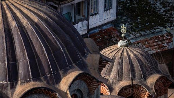Эсфигмен, монастырь: купола