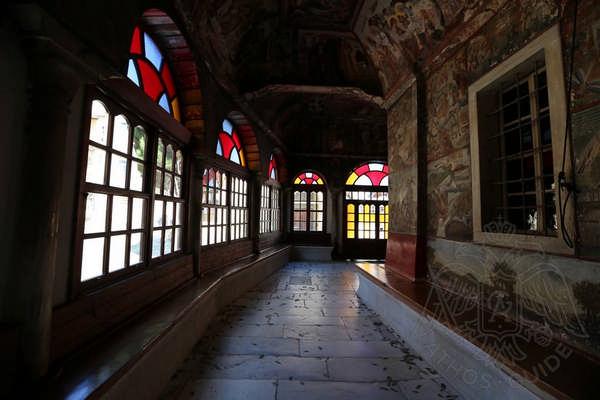 Внутренние помещения монастыря Иверон