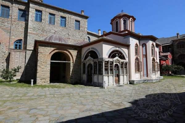 Часовня в монастыре Иверон