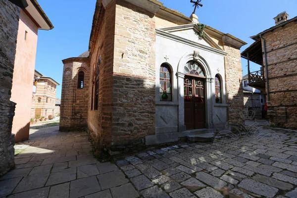 Афон, монастырь Великой Лавры: внутренние строения