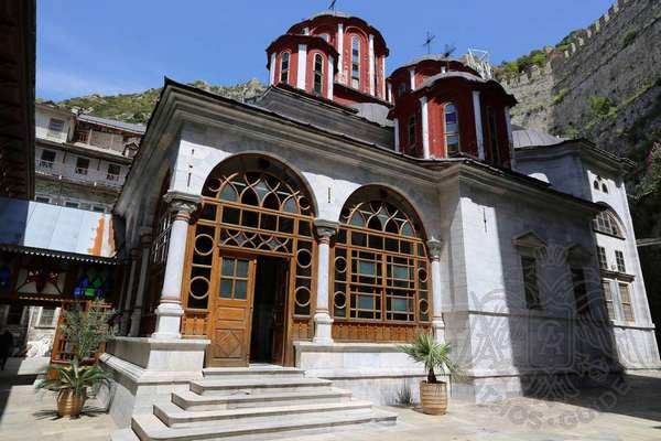 Храм монастыря Св. Павла