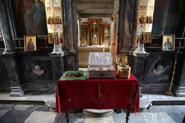 Реликвии — монастырь Св. Павла на Афоне