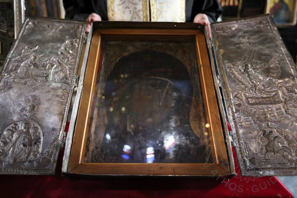 Икона монастыря Святого Павла