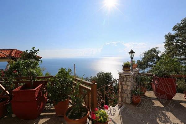 Морские пейзажи и берега Афона