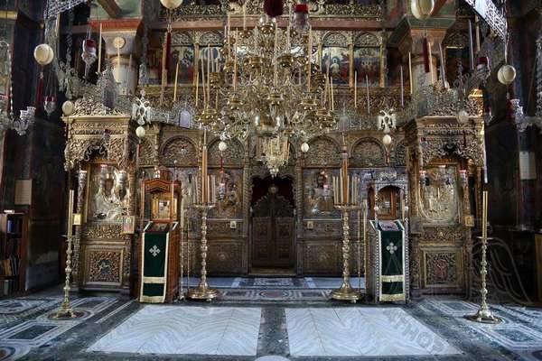 Убранство главного храма, Хиландар