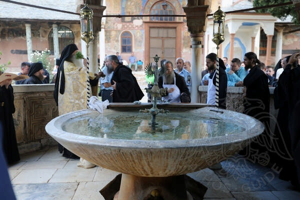 Афон: молитва монахов
