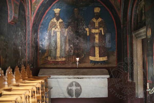 Гробница основателей монастыря