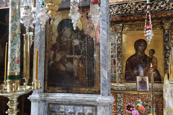 Икона Богородицы в монастыре Филофей