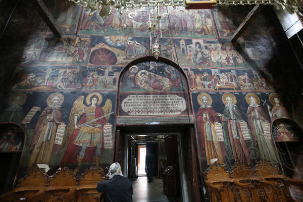 Фрески монастыря Филофей