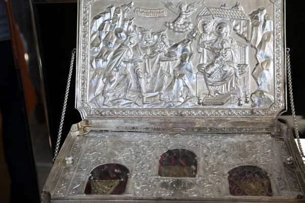 Дары Волхвов в монастыре Св. Павла