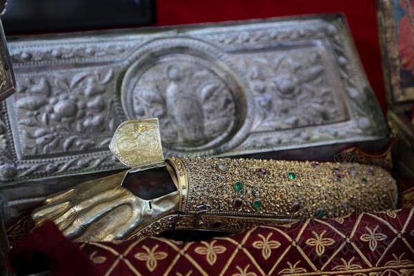 Правая рука Иоанна Крестителя