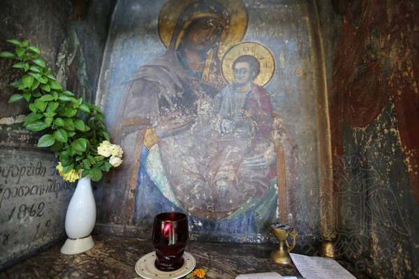Икона Богородицы, монастырь Симонопетра