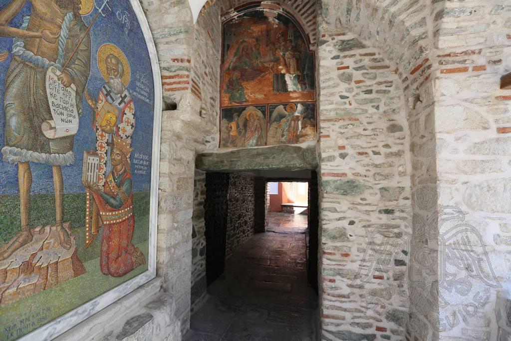 Фреска монастыря Дионисиат