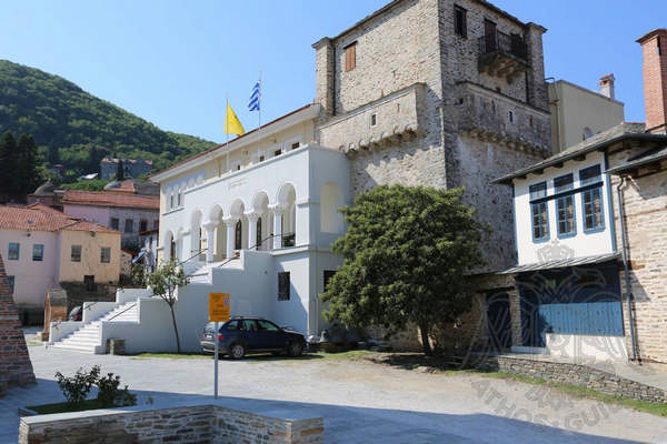 Парламент Афона в Карьесе на Святой Горе