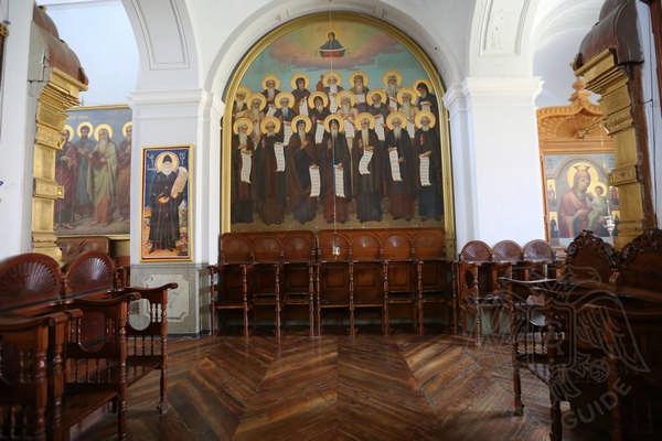Фрески собора в Андреевском скиту