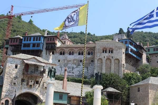 Афонский монастырь Дохиар