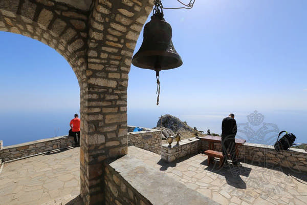 Гора Афон, восхождение к вершине