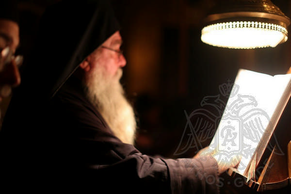 Святогорский монах