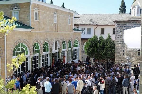 Собор монастыря св. Пантелеймона