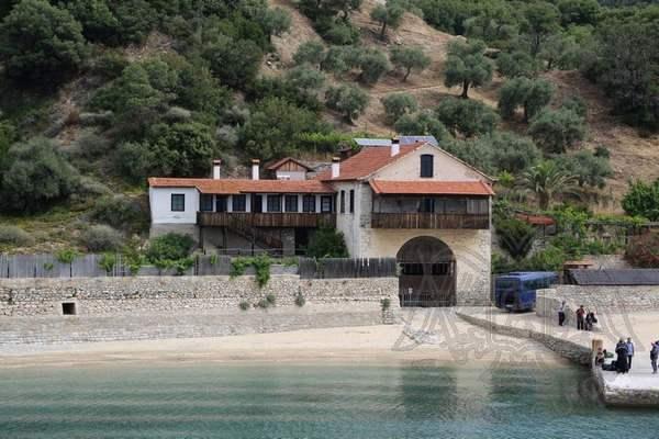 Йованница — причал монастыря Хиландар