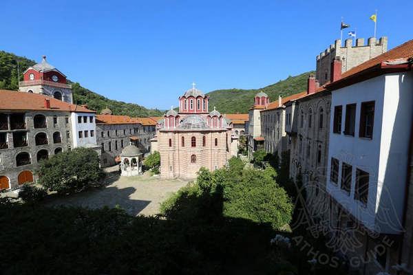 Монастырь Эсфигмен