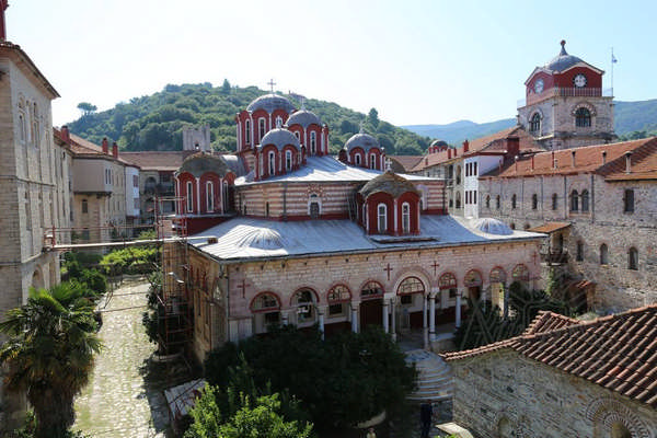 Эсфигмен, монастырь на Афоне