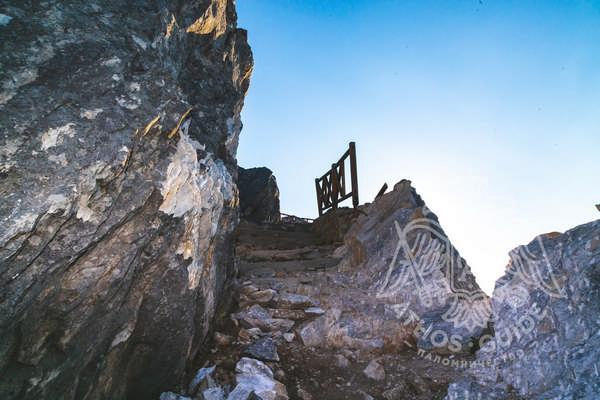 Тропа — подъем на вершину Афона