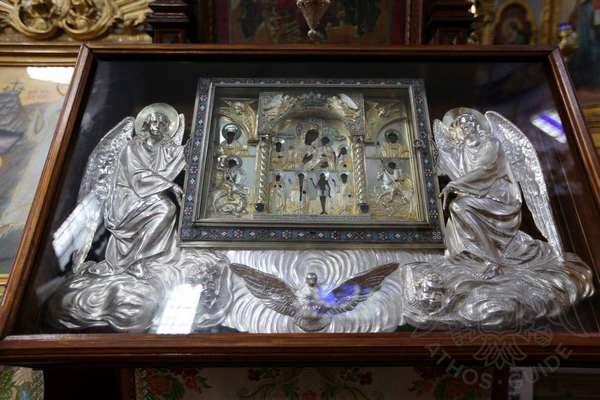 Свято-Андреевский скит, Афон: святыни скита