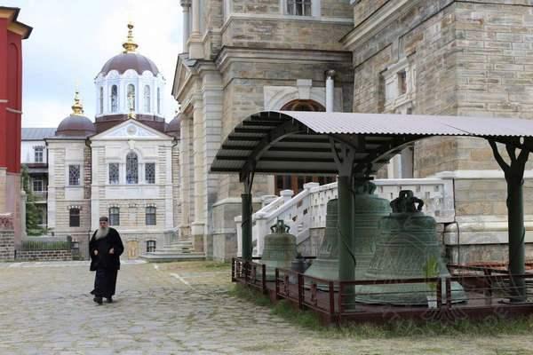 Монах в Андреевском скиту