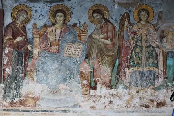 Фрески монастыря Протат на Афоне