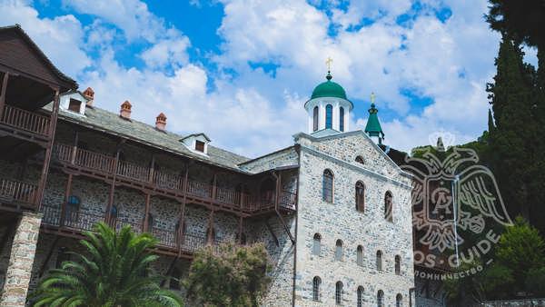 Свято-Пантелеймонов монастырь на горе Афон
