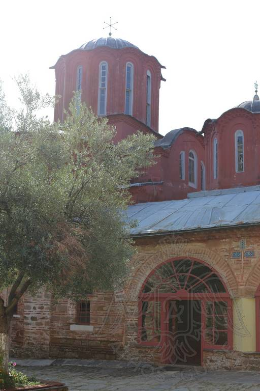 Башни монастыря Кутлумуш