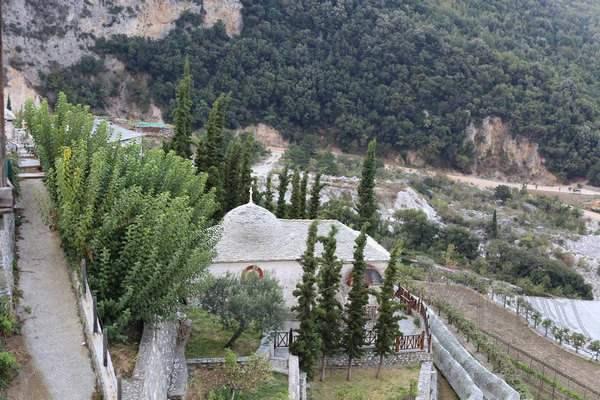 Афон, монастырь Святого Павла