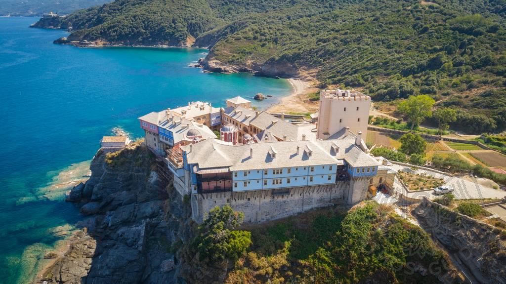 Афон, Греция: паломничество в монастырь Пантократор