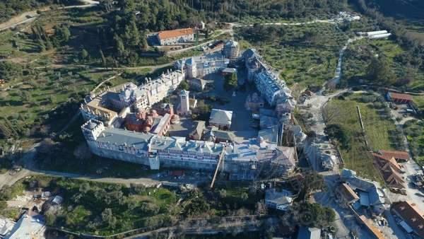 Ватопедский монастырь фото