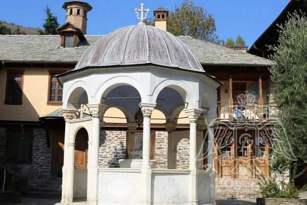 Купель монастыря Кутлумуш