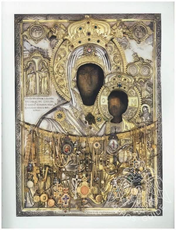 Икона Богородицы Кукузелисса фото