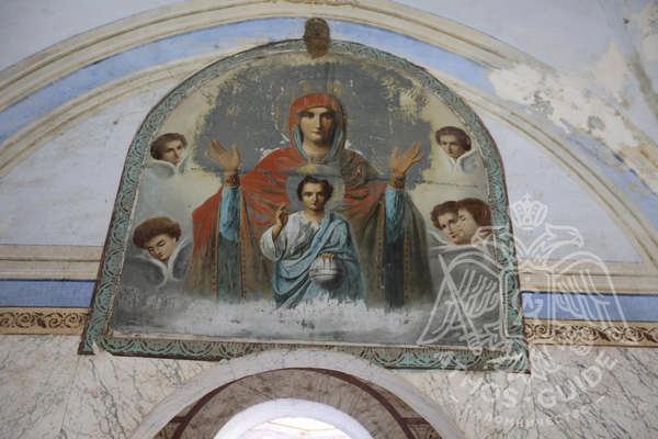 Фрески монастыря Констамонит фото