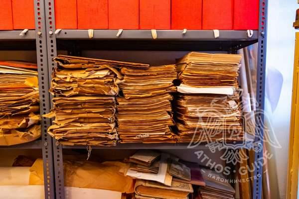 Папки и рукописи архива