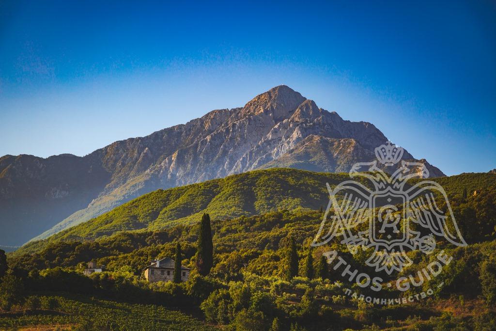 Гора Афон фото