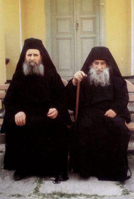 Отец Харалампий в братстве