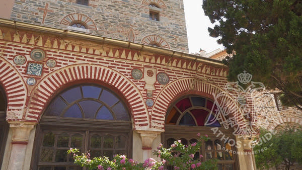 Таблички монастыря Иверон