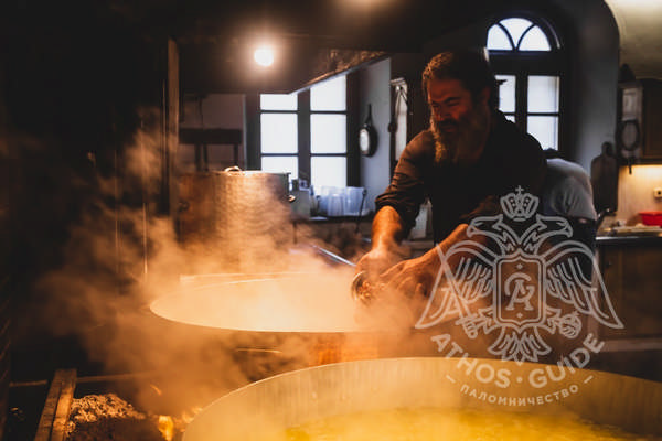Кухня монахов фото