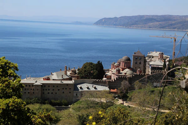 Ксенофонт монастырь, Афон