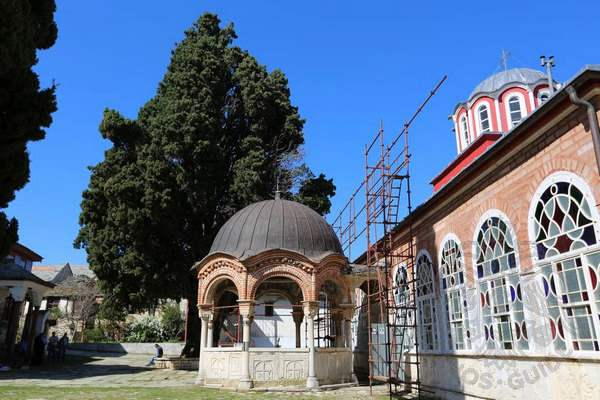 Купель монастыря Великая Лавра, Святая Гора Афон