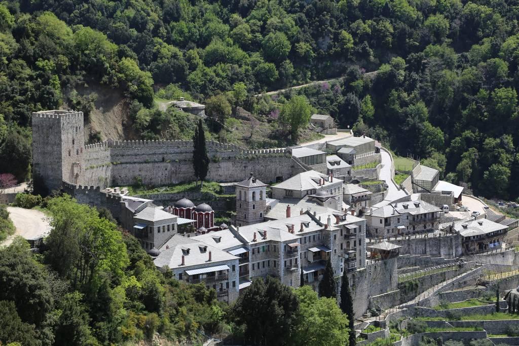 Монастырь Святого Павла на Афоне фото