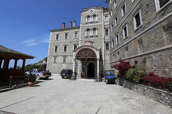 Монастырь Святого Павла, Афон: фото внутренних построек монастыря