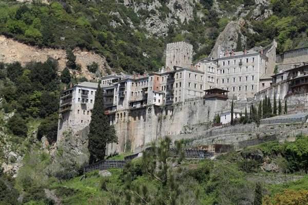 Монастыри Святого Афона: обитель Святого Павла фото