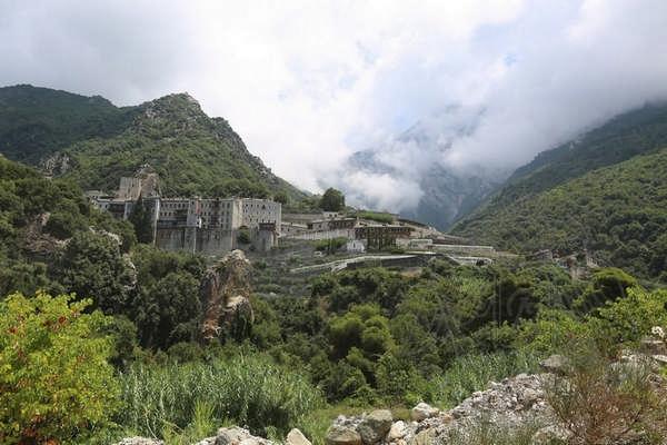 Монастырь св. Павла на Афоне