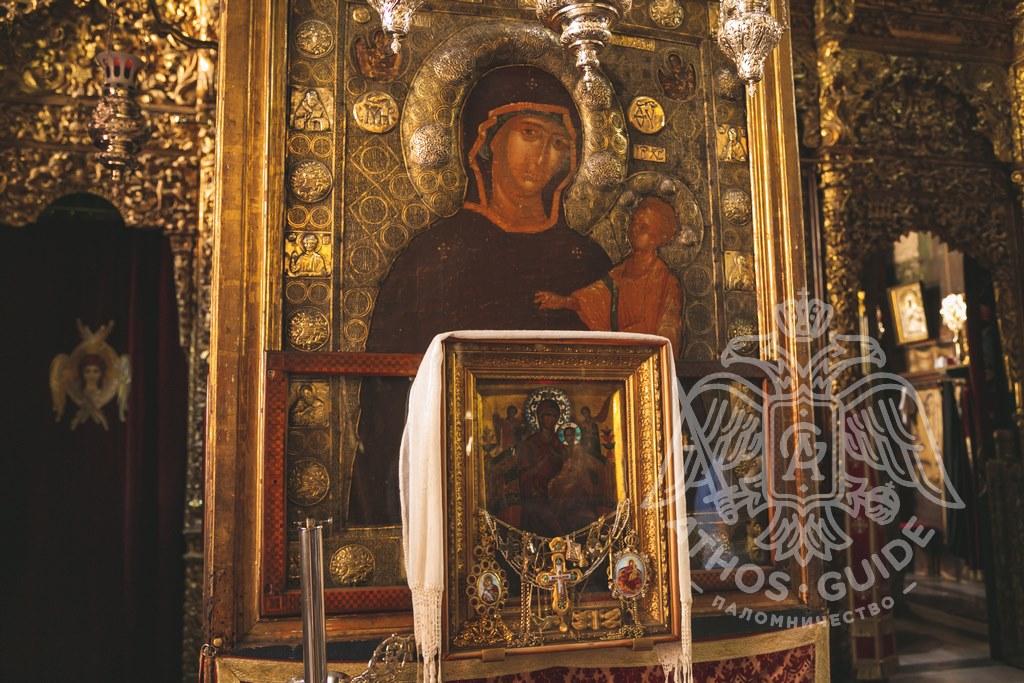 Икона Богородицы Всецарицы фото